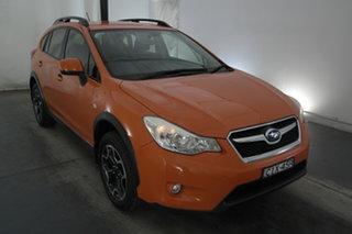 2012 Subaru XV G4X MY13 2.0i Lineartronic AWD Orange 6 Speed Constant Variable Wagon.