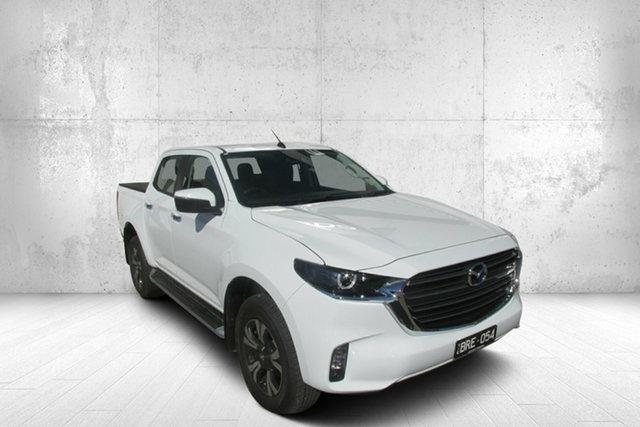 Demo Mazda BT-50 TFR40J XTR 4x2 Bendigo, 2021 Mazda BT-50 TFR40J XTR 4x2 White 6 Speed Sports Automatic Utility