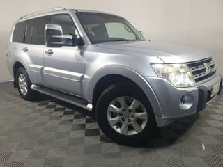 2010 Mitsubishi Pajero NT MY10 Exceed Cool Silver 5 Speed Sports Automatic Wagon.