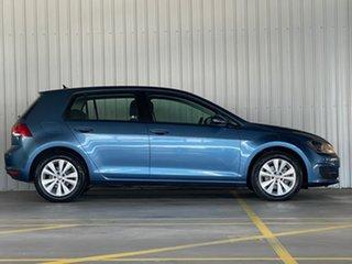 2015 Volkswagen Golf VII MY16 92TSI DSG Comfortline Blue 7 Speed Sports Automatic Dual Clutch.
