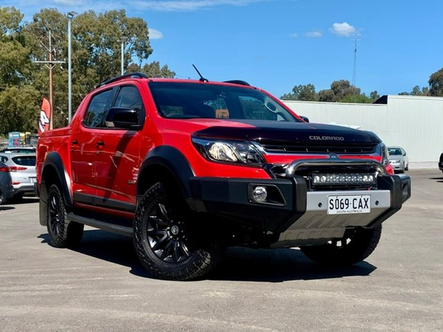 Used Holden Colorado RG MY18 Z71 Pickup Crew Cab Clare, 2017 Holden Colorado RG MY18 Z71 Pickup Crew Cab Red 6 Speed Sports Automatic Utility