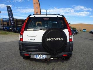 2002 Honda CR-V MY02 (4x4) White 4 Speed Automatic Wagon