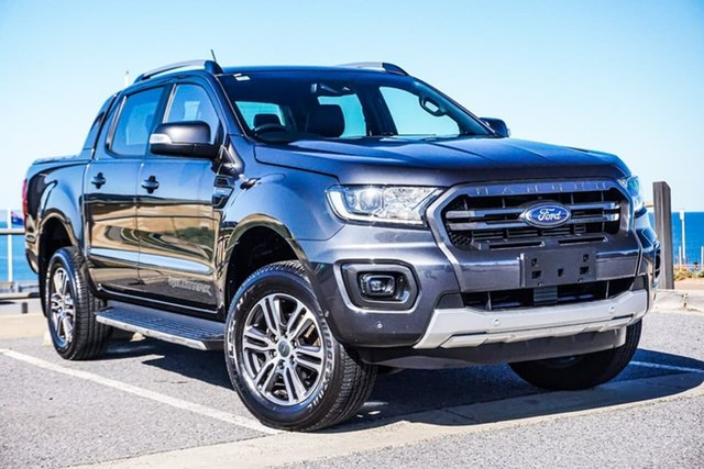 Used Ford Ranger PX MkIII 2020.75MY Wildtrak Christies Beach, 2020 Ford Ranger PX MkIII 2020.75MY Wildtrak Grey 10 Speed Sports Automatic Double Cab Pick Up