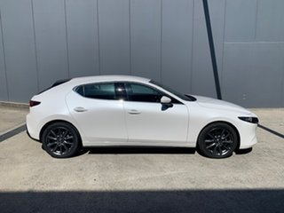2021 Mazda 3 BP2H7A G20 SKYACTIV-Drive Touring Snowflake White 6 Speed Sports Automatic Hatchback.