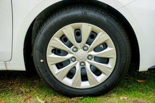 2021 Kia Cerato BD MY22 S Snow White Pearl 6 Speed Sports Automatic Hatchback