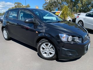 2014 Holden Barina TM MY14 CD Black 5 Speed Manual Hatchback.
