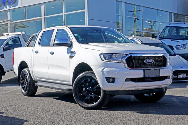 Used Ford Ranger PX MkIII 2020.75MY XLT Ebbw Vale, 2020 Ford Ranger PX MkIII 2020.75MY XLT Alabaster White 6 Speed Sports Automatic Double Cab Pick Up