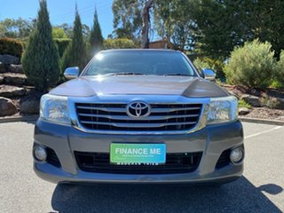 2012 Toyota Hilux GGN15R MY12 SR 4x2 Grey 5 Speed Automatic Cab Chassis