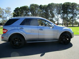 2010 Mercedes-Benz ML350 CDI W164 09 Upgrade Sports Luxury (4x4) Charcoal 7 Speed Automatic G-Tronic