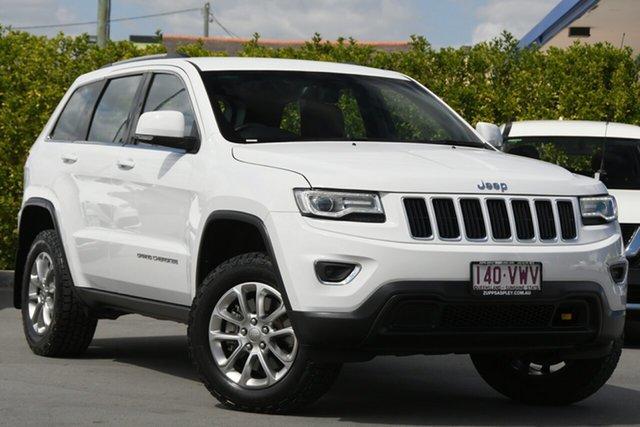 Used Jeep Grand Cherokee WK MY15 Laredo Aspley, 2015 Jeep Grand Cherokee WK MY15 Laredo White 8 Speed Sports Automatic Wagon