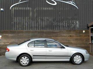 2005 Ford Falcon BF XT Silver 4 Speed Sports Automatic Sedan.