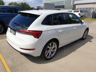 2020 Skoda Scala NW MY21 110TSI DSG Candy White 7 Speed Sports Automatic Dual Clutch Hatchback.