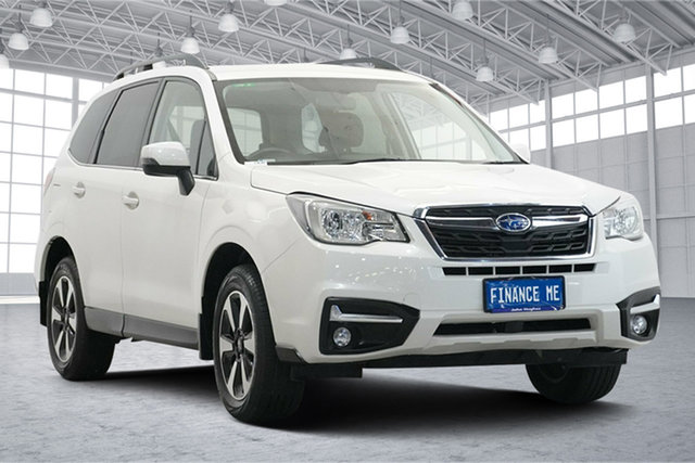 Used Subaru Forester S4 MY16 2.5i-L CVT AWD Victoria Park, 2016 Subaru Forester S4 MY16 2.5i-L CVT AWD Crystal Pearl 6 Speed Constant Variable Wagon