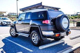 2016 Toyota FJ Cruiser GSJ15R MY14 Black 5 Speed Automatic Wagon.