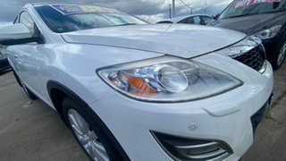 2010 Mazda CX-9 TB10A4 MY11 Grand Touring White 6 Speed Sports Automatic Wagon.
