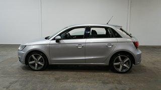 2018 Audi A1 8X MY18 Sport Sportback Silver 6 Speed Manual Hatchback