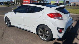 2013 Hyundai Veloster FS3 SR Coupe Turbo White Semi Auto Coupe.