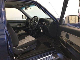 2015 Nissan Navara D22 S5 ST-R Blue 5 Speed Manual Utility