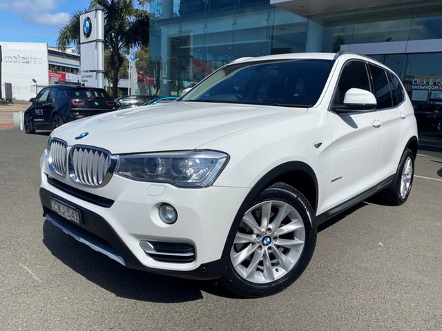 Used BMW X3 F25 MY15 xDrive20d Brookvale, 2014 BMW X3 F25 MY15 xDrive20d Alpine White 8 Speed Automatic Wagon