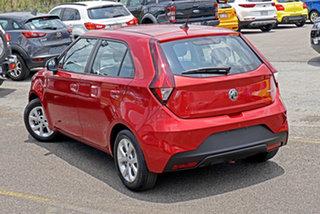 2021 MG MG3 SZP1 MY21 Core (Nav) Red 4 Speed Automatic Hatchback.