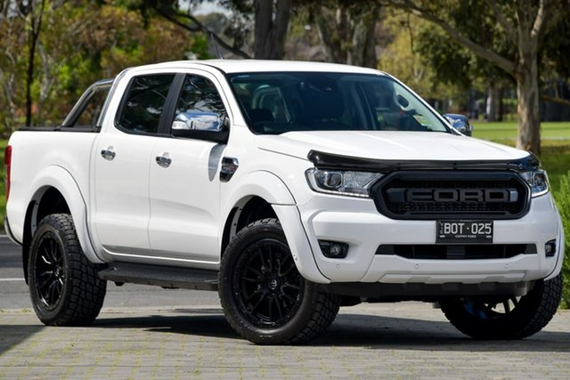 Used Ford Ranger PX MkIII 2021.25MY XLT Dandenong, 2021 Ford Ranger PX MkIII 2021.25MY XLT White 6 Speed Sports Automatic Double Cab Pick Up