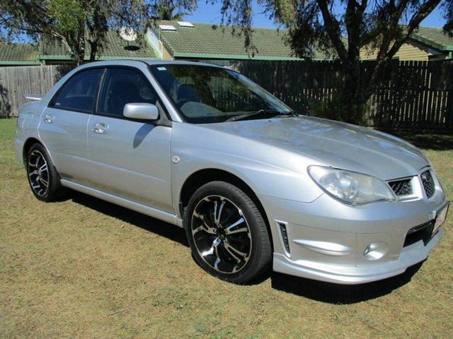 Used Subaru Impreza S MY06 AWD Kippa-Ring, 2006 Subaru Impreza S MY06 AWD Silver 5 Speed Manual Sedan