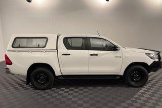 2017 Toyota Hilux GUN126R SR Double Cab White 6 speed Automatic Utility