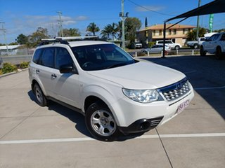 2012 Subaru Forester S4 MY13 2.5i Lineartronic AWD White 6 Speed Constant Variable Wagon.