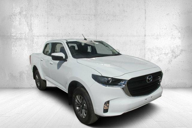 Demo Mazda BT-50 UR0YG1 XT Bendigo, 2020 Mazda BT-50 UR0YG1 XT White 6 Speed Manual Utility