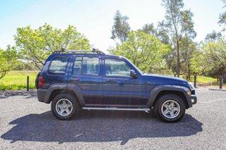 2005 Jeep Cherokee KJ MY2005 Renegade Blue 4 Speed Automatic Wagon