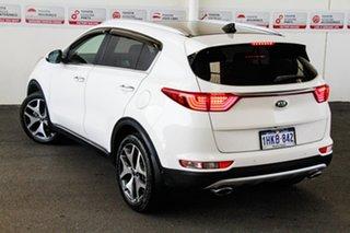 2016 Kia Sportage QL MY17 GT-Line (AWD) White 6 Speed Automatic Wagon.