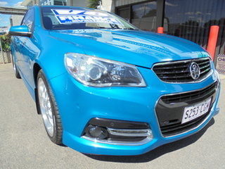 2013 Holden Ute VF MY14 SS V Ute Blue 6 Speed Sports Automatic Utility.