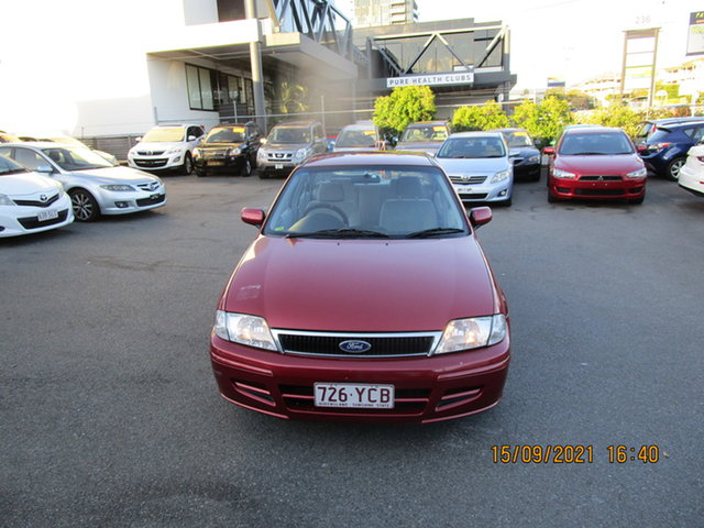 Used Ford Laser KN LXI Coorparoo, 2001 Ford Laser KN LXI Red 4 Speed Automatic Sedan