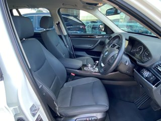 2014 BMW X3 F25 MY15 xDrive20d Alpine White 8 Speed Automatic Wagon