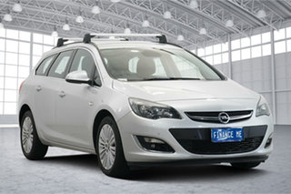 2013 Opel Astra AS Sports Tourer Silver 6 Speed Sports Automatic Wagon.