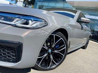 2020 BMW 5 G30 30e M Sport PHEV LCI Bernina Grey Amber Effect 8 Speed Auto Steptronic Sport Sedan.