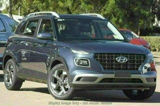 2021 Hyundai Venue Qx.v4 MY22 Active The Denim 6 Speed Automatic Wagon