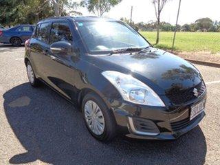 2016 Suzuki Swift FZ MY15 GL Black 4 Speed Automatic Hatchback.