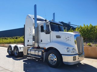2014 Kenworth T400 Series T400 Series Truck White Prime Mover.