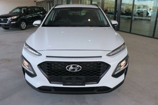2019 Hyundai Kona OS.2 MY19 Go 2WD Chalk White 6 Speed Sports Automatic Wagon.