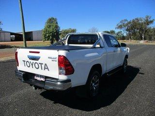 2018 Toyota Hilux GUN126R MY17 SR5 (4x4) Glacier White 6 Speed Automatic X Cab Utility.