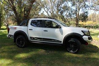 2021 Nissan Navara D23 Pro-4X Warrior White Pearl 7 Speed Sports Automatic Utility.