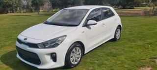 2017 Kia Rio YB MY17 S White 4 Speed Sports Automatic Hatchback.