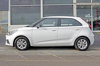 2021 MG MG3 SZP1 MY21 Core White 4 Speed Automatic Hatchback