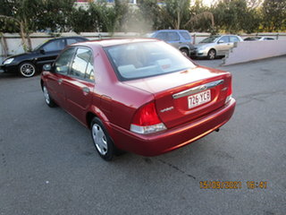 2001 Ford Laser KN LXI Red 4 Speed Automatic Sedan