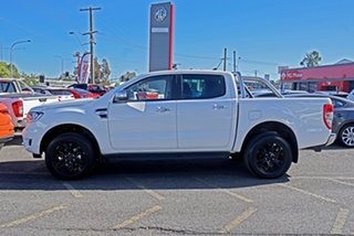 2020 Ford Ranger PX MkIII 2020.75MY XLT Alabaster White 6 Speed Sports Automatic Double Cab Pick Up
