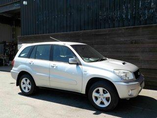 2005 Toyota RAV4 ACA23R CV Sport Silver 5 Speed Manual Wagon.