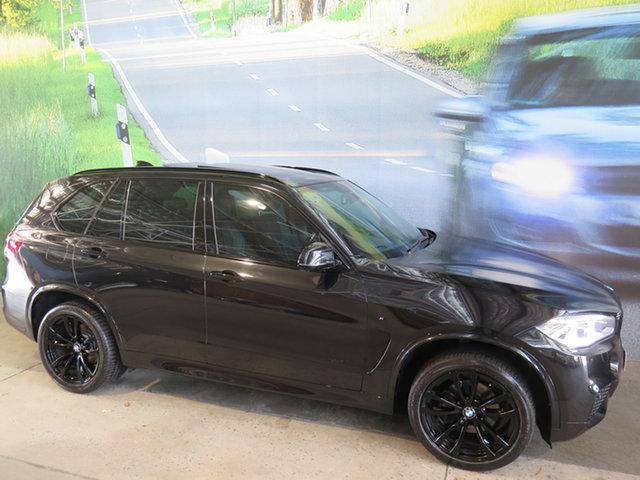 Used BMW X5 F15 MY15 xDrive30d Osborne Park, 2015 BMW X5 F15 MY15 xDrive30d Black 8 Speed Automatic Wagon