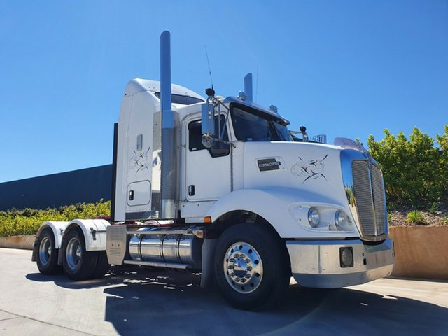 Used Kenworth Truck Harristown, 2014 Kenworth T400 Series T400 Series Truck White Prime Mover
