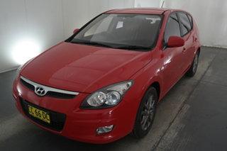 2010 Hyundai i30 FD MY10 SLX Red 5 Speed Manual Hatchback.